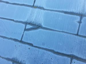 屋根材補修不良1